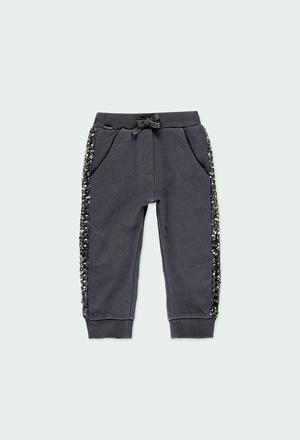 Pantalon en molleton pour bébé_1
