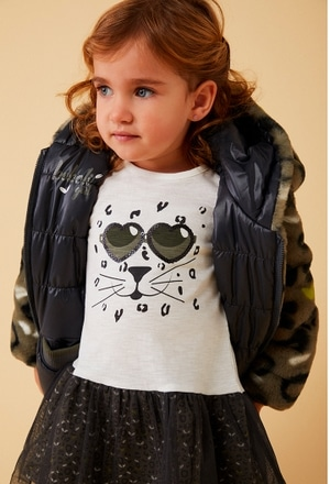 Parka reversible animal print de bebé_1