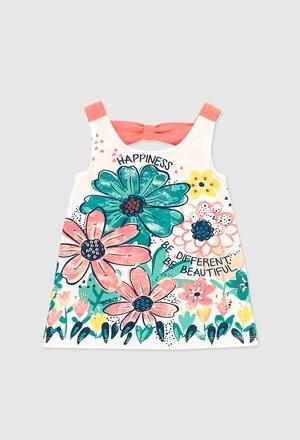 Kleid gestrickt elastisch für baby mädchen_1