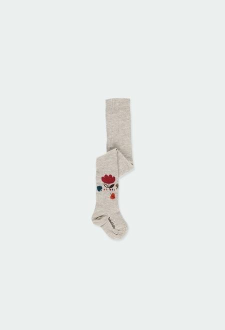"Leotardo ""flores"" de bebé niña_1"
