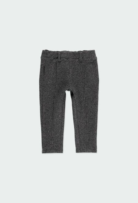 Pantalon maille pour bébé fille_1