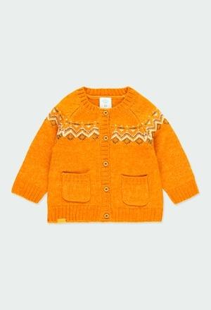 """Knitwear jacket """"friezes"""" for baby_1"""
