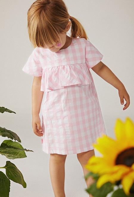 Vestido popelín de bebé niña_1