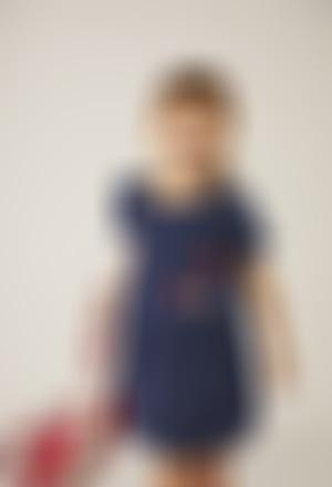 "Denim dress ""ladybird"" for baby girl"