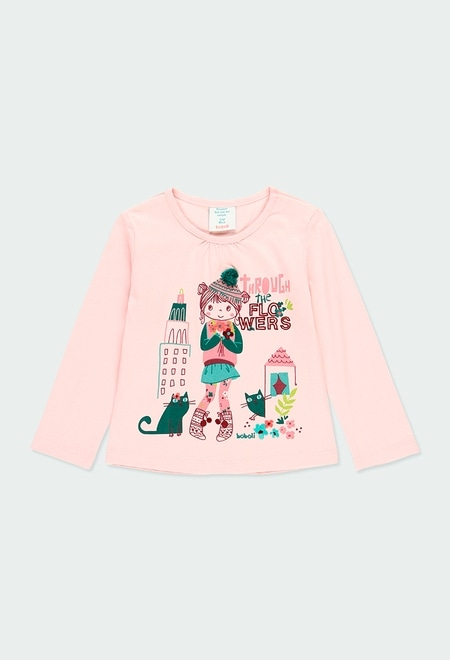 Knit t-Shirt for baby_1