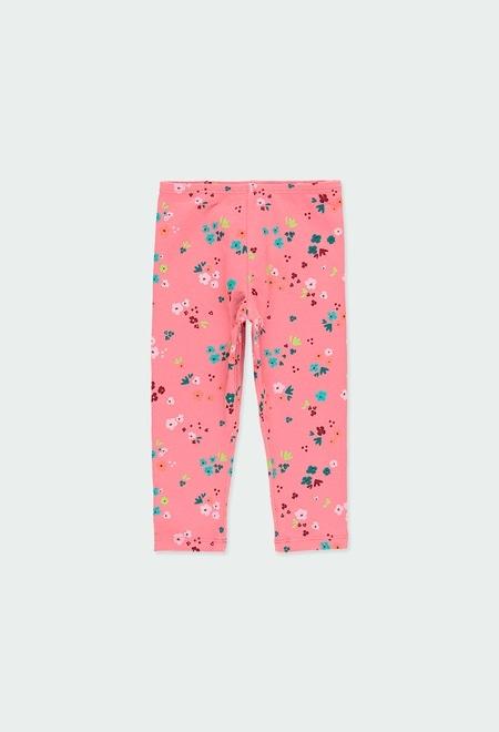 """Leggings """"little flowers"""" for baby girl_1"""