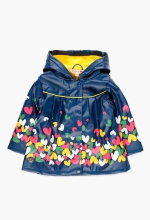 Regenmantel mit caputze für baby mädchen_1