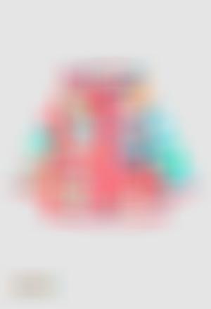 Impermeable con capucha de bebé niña