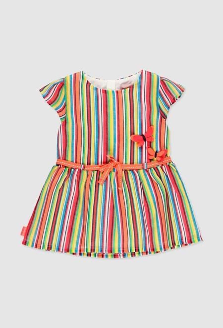 Vestido gasa de bebé niña_1