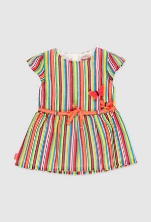 Chiffon dress for baby girl_1