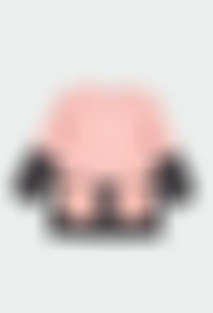 Vestido tricotosa con volantes de bebé
