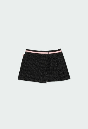 Skort knit for baby girl_1
