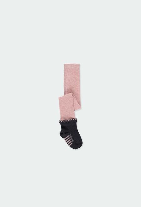 Collants con meia para o bebé menina_1