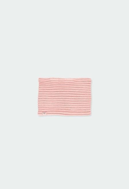 Cache-cou tricot pour bébé fille_1
