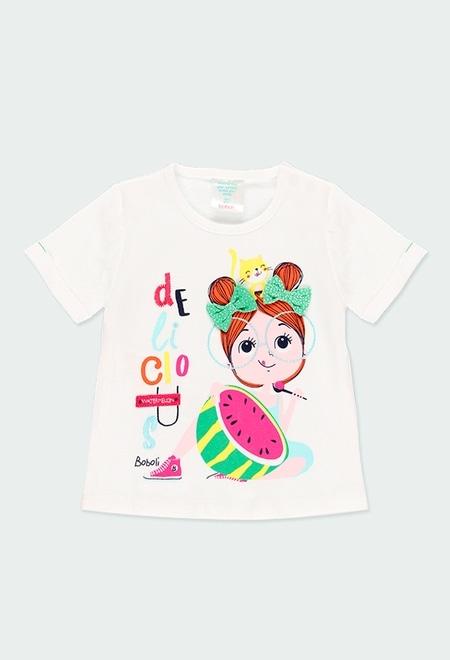 T-Shirt tricot pour bébé_1