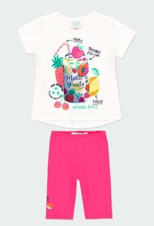 Pack en tricot fruits pour bébé fille_1