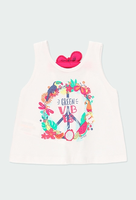 """T-Shirt tricot """"papillons"""" pour bébé_1"""