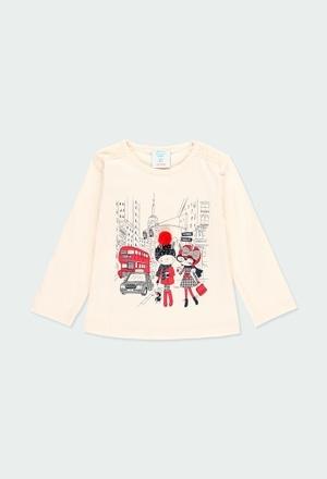 T-Shirt tricot en tulle pour bébé fille_1