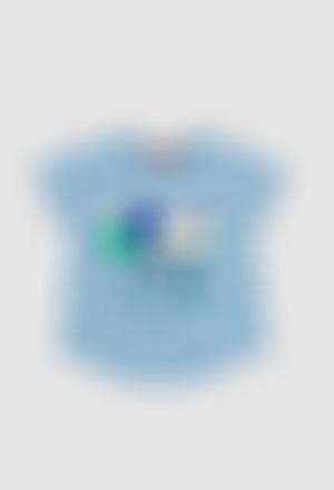 Camiseta punto de bebé niña