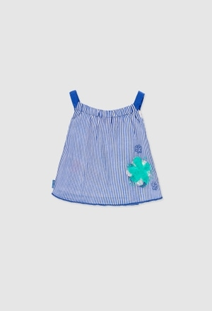 Shirt with gauze for baby girl_1