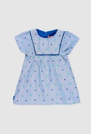 Vestido de tejido de bebé niña_1