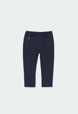 Pantaloni felpati elasticizzati per neonati_1