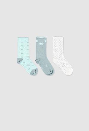Pack calcetines de bebé niña_1
