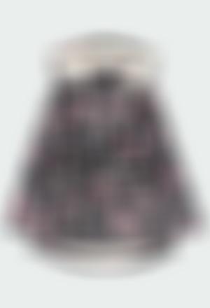 Hooded raincoat for girl