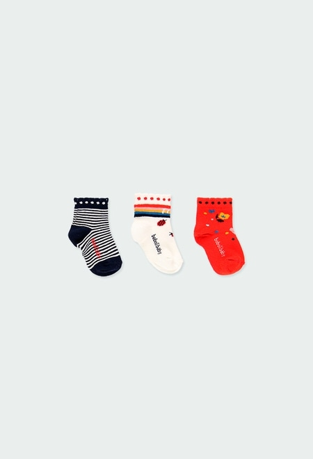 Pack of socks for baby girl_1