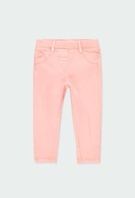 Pantalon en toile maille pour bébé fille_1