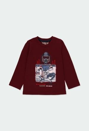 """Camiseta punto """"rugby"""" de bebé niño_1"""