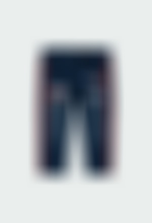 Pantaloni felpati denim per bimbo