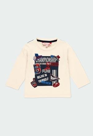 """T-Shirt gestrickt flame """"buchstaben"""" für baby_1"""