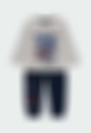 """Pack jersey combinato """"new york """" per neonati"""