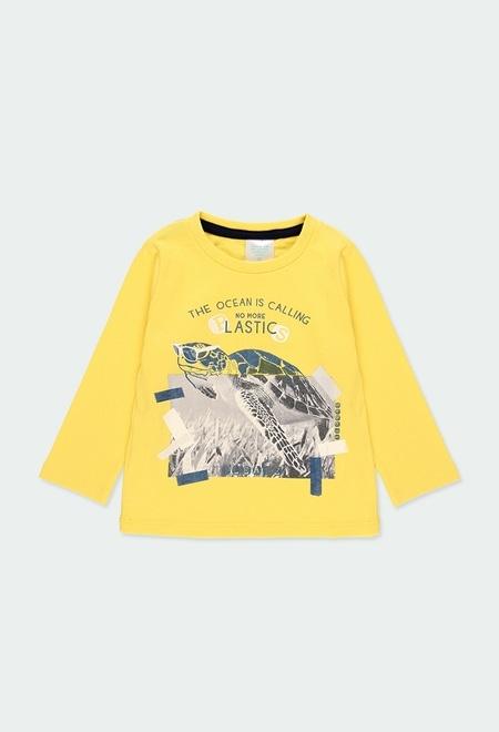 """T-Shirt tricot """"tortue"""" pour bébé garçon_1"""