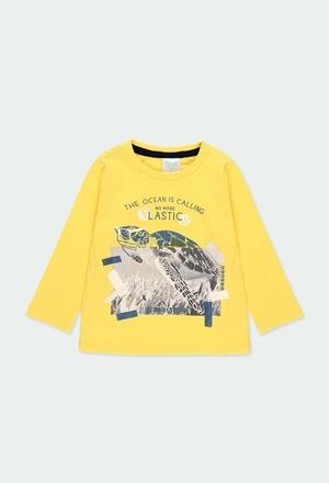 """Camiseta malha """"tartaruga"""" para o bebé menino_1"""