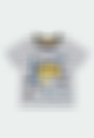 "Camiseta punto ""tiburones"" de bebé niño"