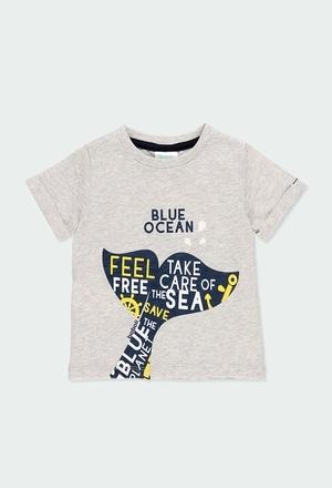 "Camiseta punto ""ballena"" de bebé niño_1"