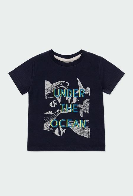 """T-Shirt tricot """"poissons"""" pour bébé garçon_1"""