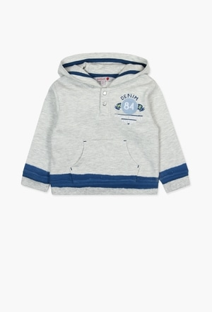 Fleece with pockets sweatshirt for baby boy_1