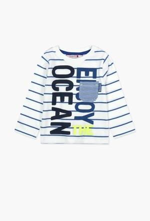 Camiseta de algodão para o bebé menino_1