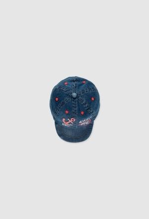 Denim cap for baby boy_1