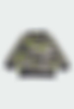 Sudadera felpa camuflaje de bebé niño