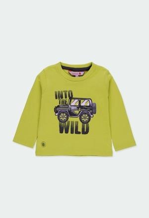 """T-Shirt gestrickt """"safari"""" für baby junge_1"""