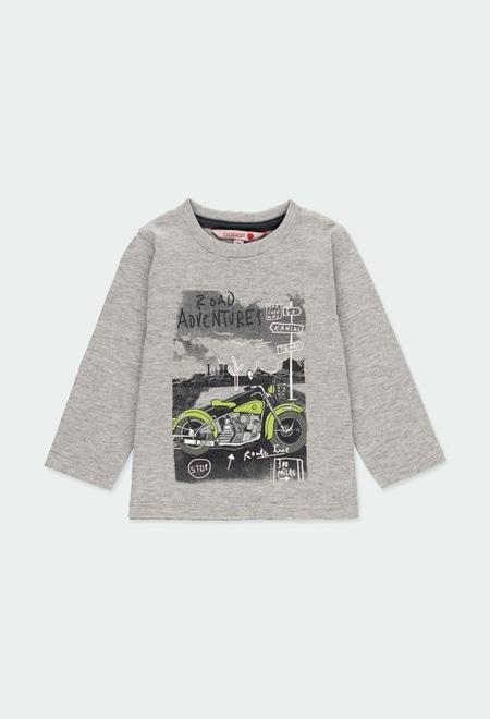 """Camiseta punto """"motorcycle"""" de bebé niño_1"""