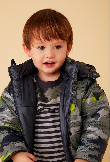 Parka reversibel camouflage für baby junge_1