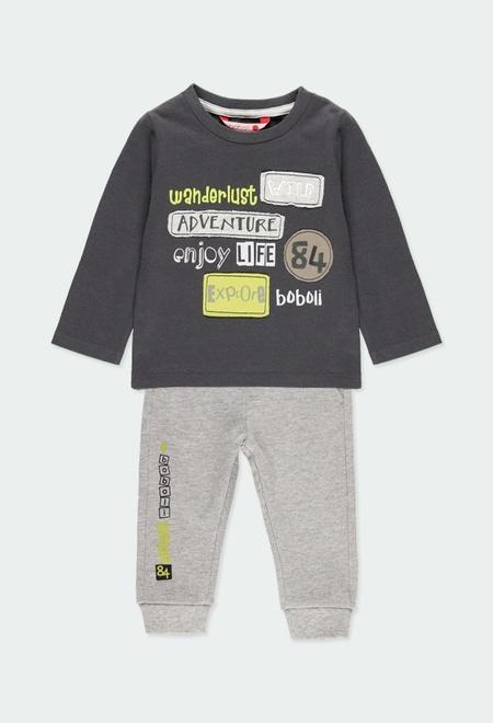 """Pack en tricot """"adventure"""" pour bébé garçon_1"""