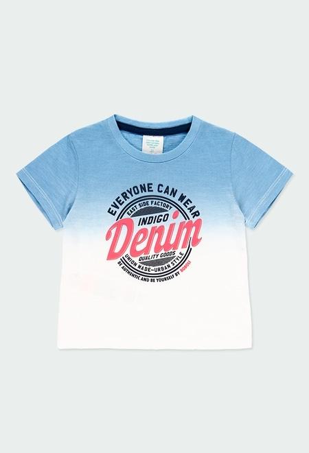 Knit t-Shirt dye for baby boy_1