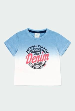 T-Shirt tricot teinte pour bébé garçon_1