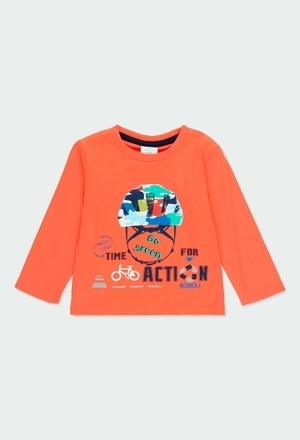 """Camiseta malha """"bicicleta"""" para o bebé menino_1"""